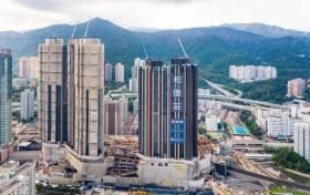 香港新界一手房柏傲庄楼盘开放示范单位