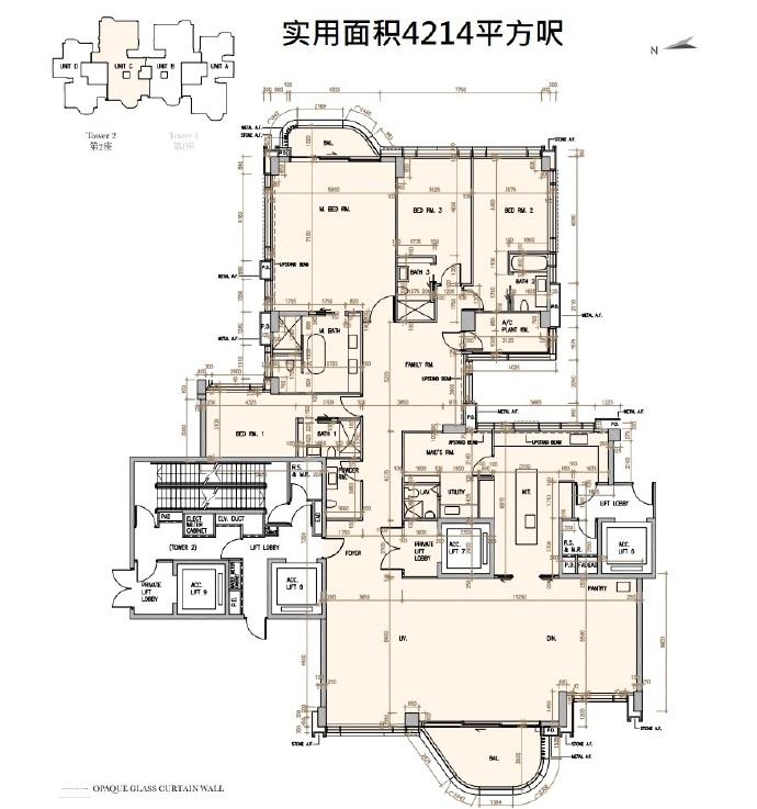 深水湾径8号 户型图