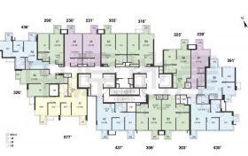 香港房产瑧颐 户型图平面图