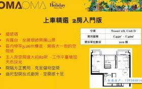 香港oma oma两房户型图 (1)