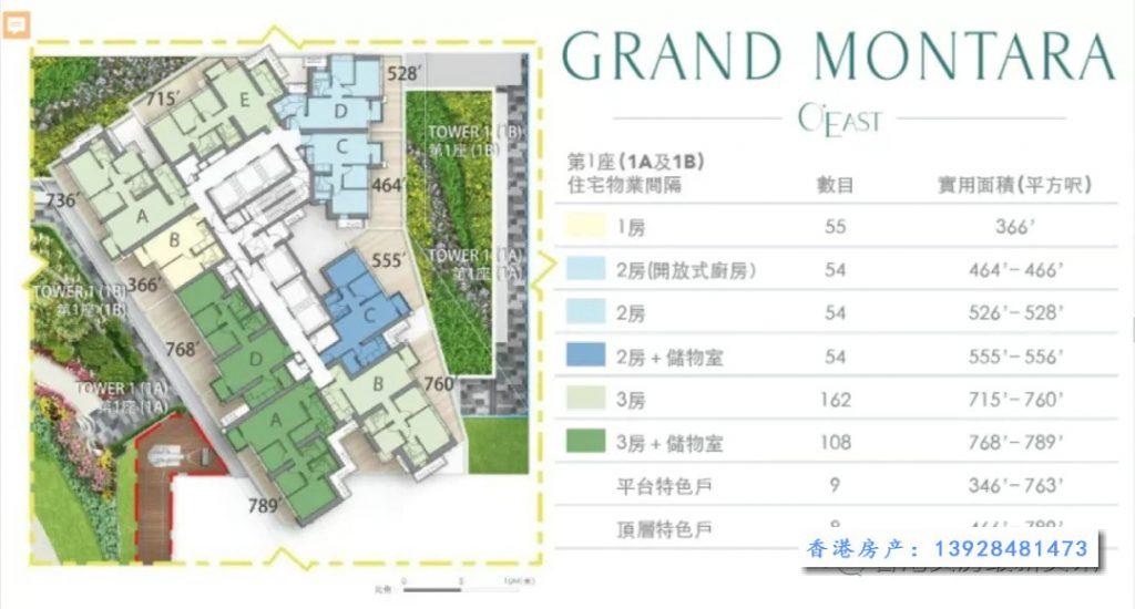 GRAND MONTARA 户型图