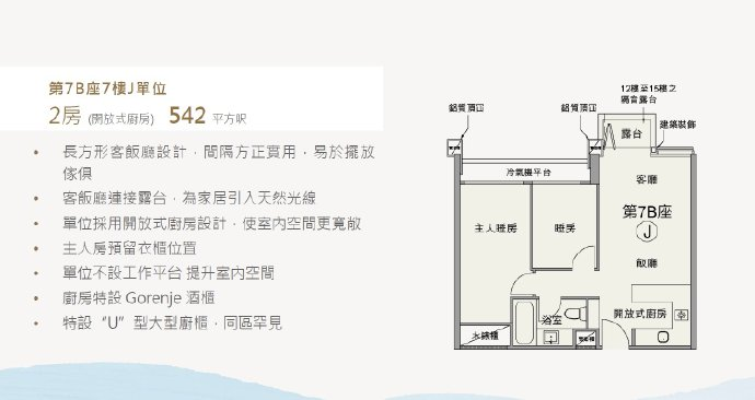 香港朗涛户型图2
