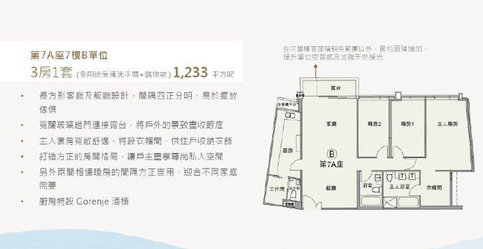 香港朗涛户型图6
