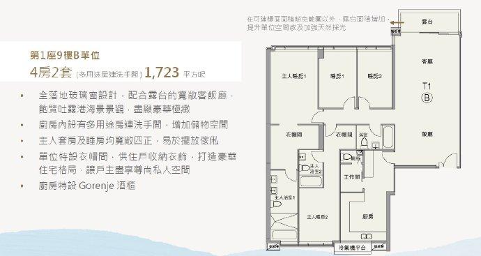 香港朗涛户型图7