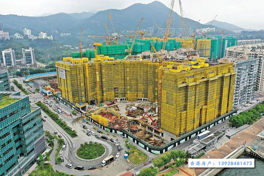 香港朗涛项目现场