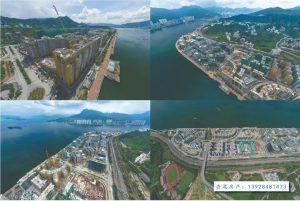 香港朗涛拥有开阔的前排海景