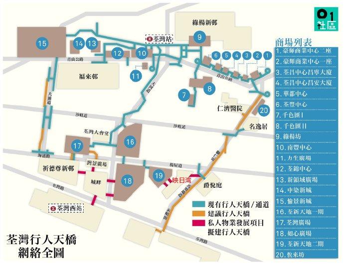 香港映日湾位置(附近天桥直达地铁)