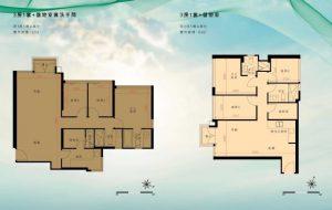 香港映日湾户型图1