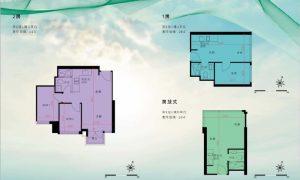 香港映日湾户型图2