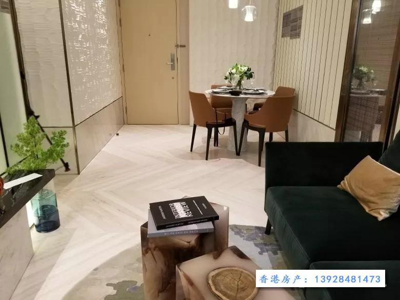 香港MARINI样板房(客厅)