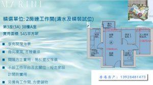 香港MARINI两房户型图
