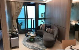 香港尚珒溋样板房(客厅)
