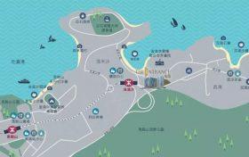 香港房产峻源位置