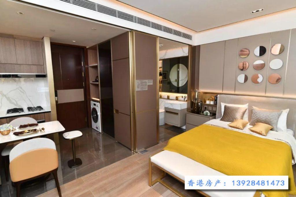 香港恒大珺珑湾主人房