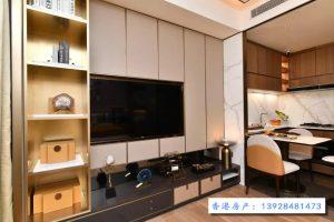 香港恒大珺珑湾样板房客厅