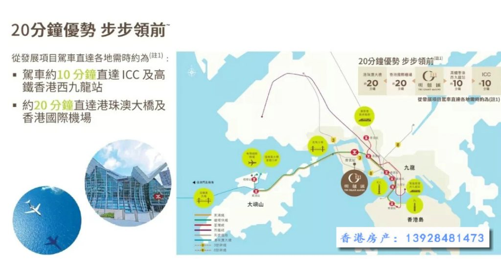 香港明翘汇区域位置