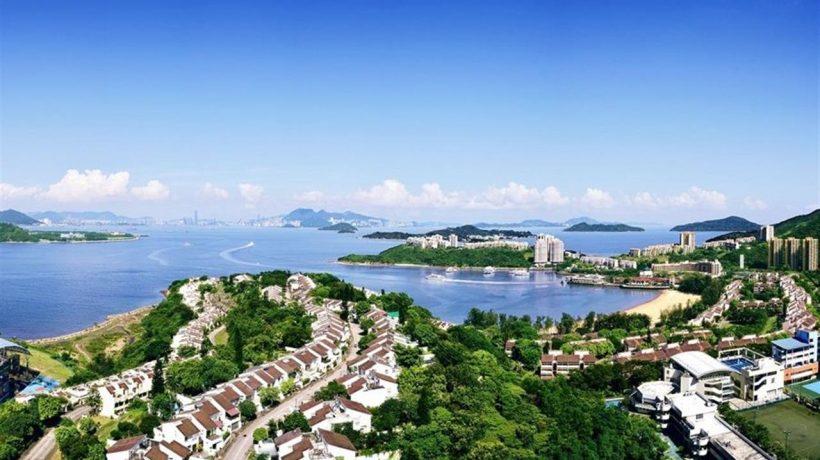 香港意峰别墅远望海景