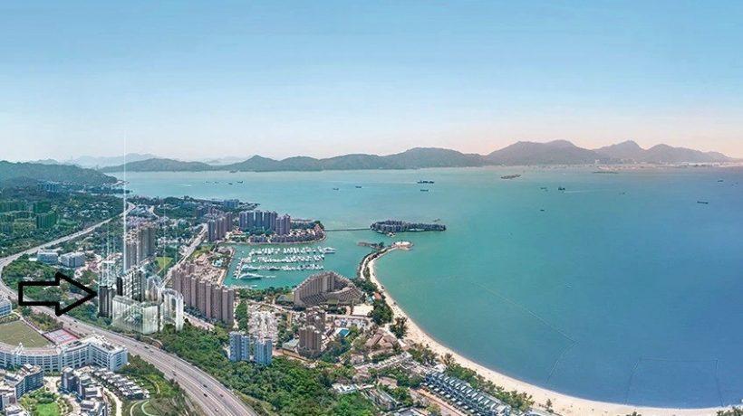香港帝御金湾位置2