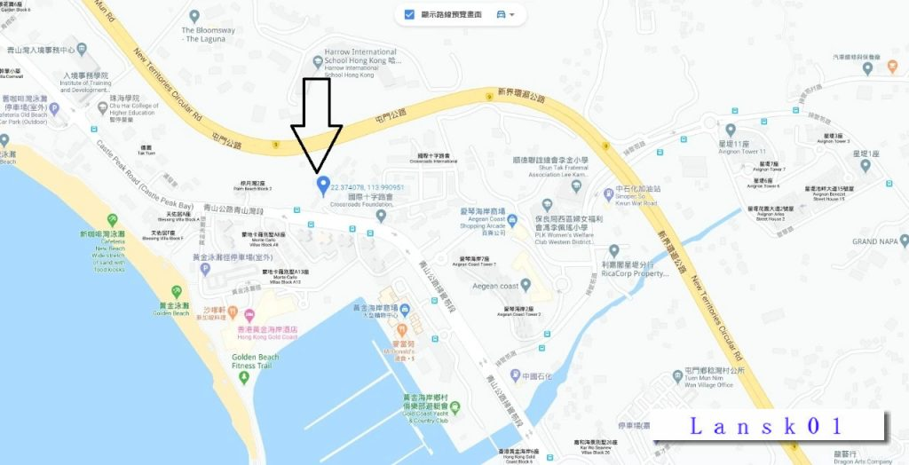 香港帝御金湾位置