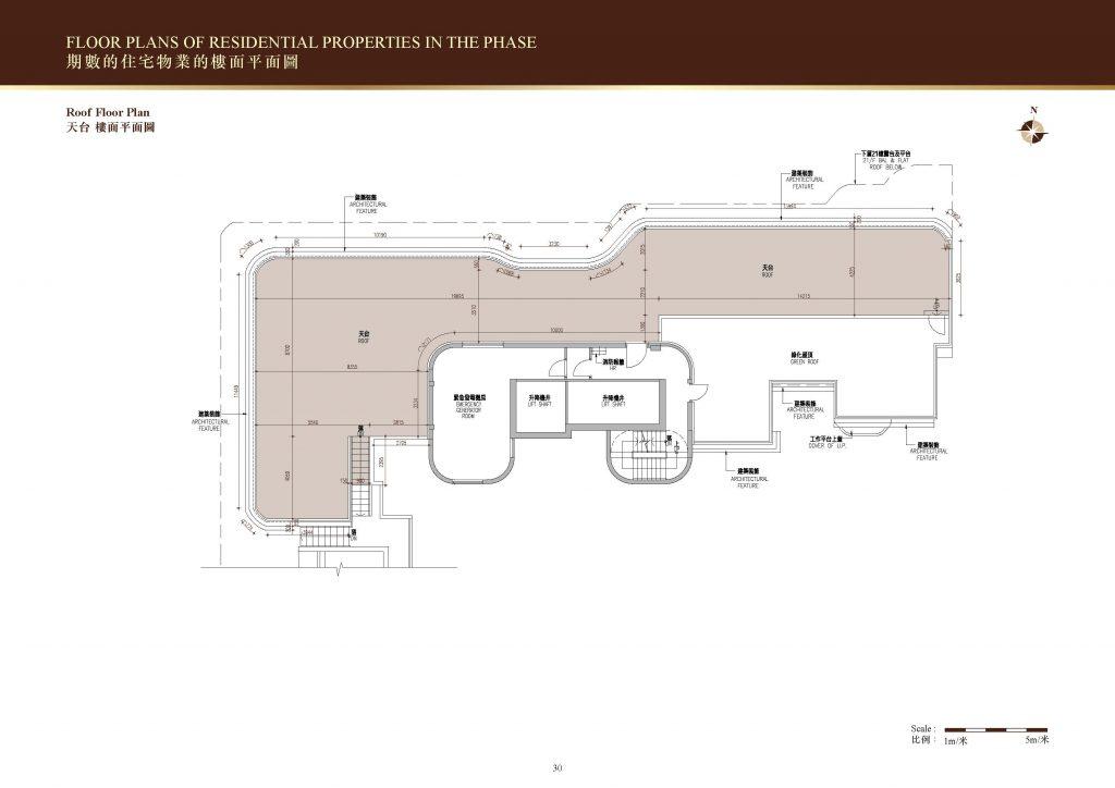 128 Waterloo 顶层天台户形图