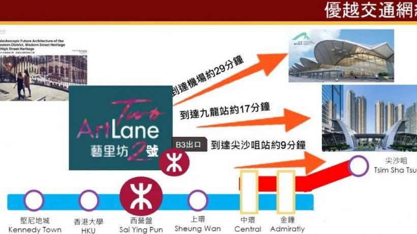 香港艺里坊2号交通