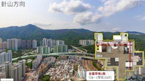 香港柏傲庄景观和户型图2