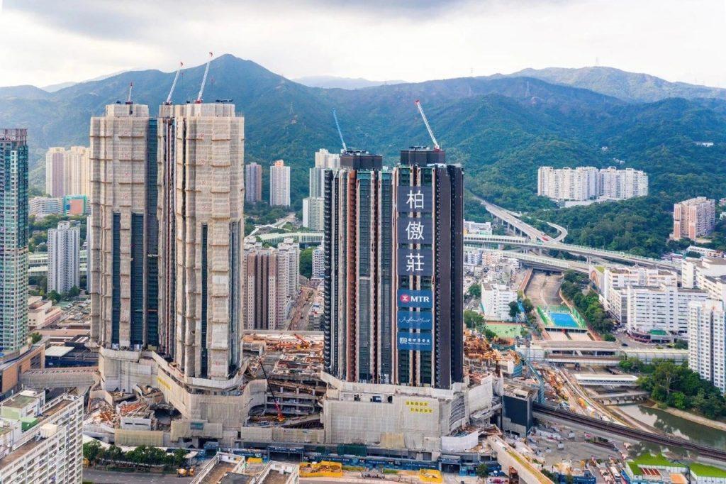 香港柏傲庄外观
