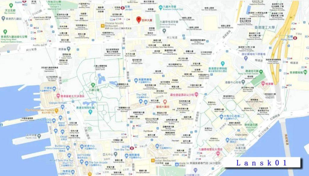 香港本木位置