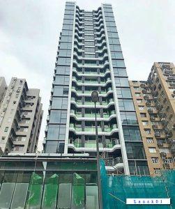 香港新楼盘本木 外观