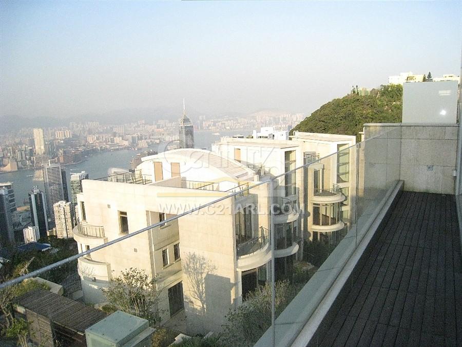 香港白加道别墅景观
