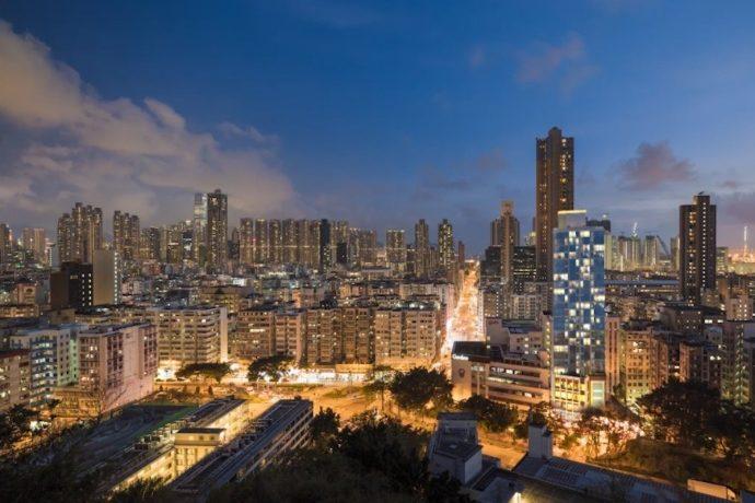 香港九龙楼盘