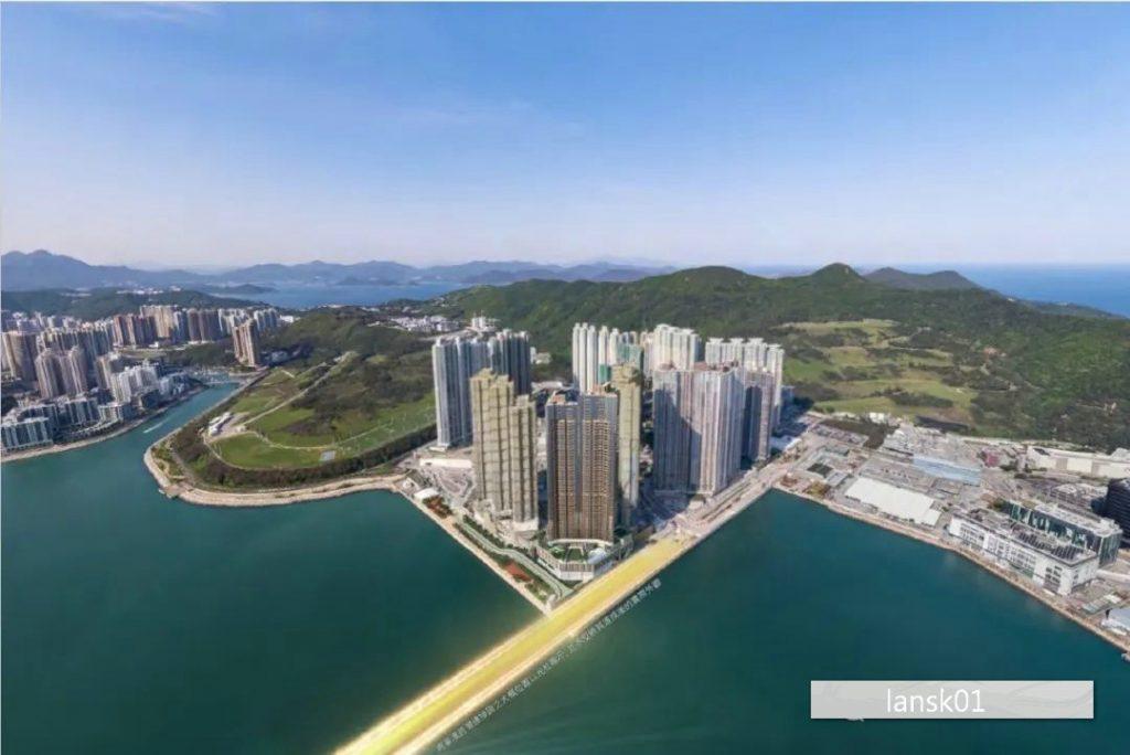 香港新楼盘LP10外观远景