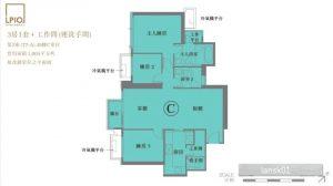 香港LP10户型图(2房)