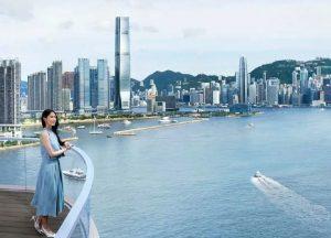 香港维港汇楼盘海景