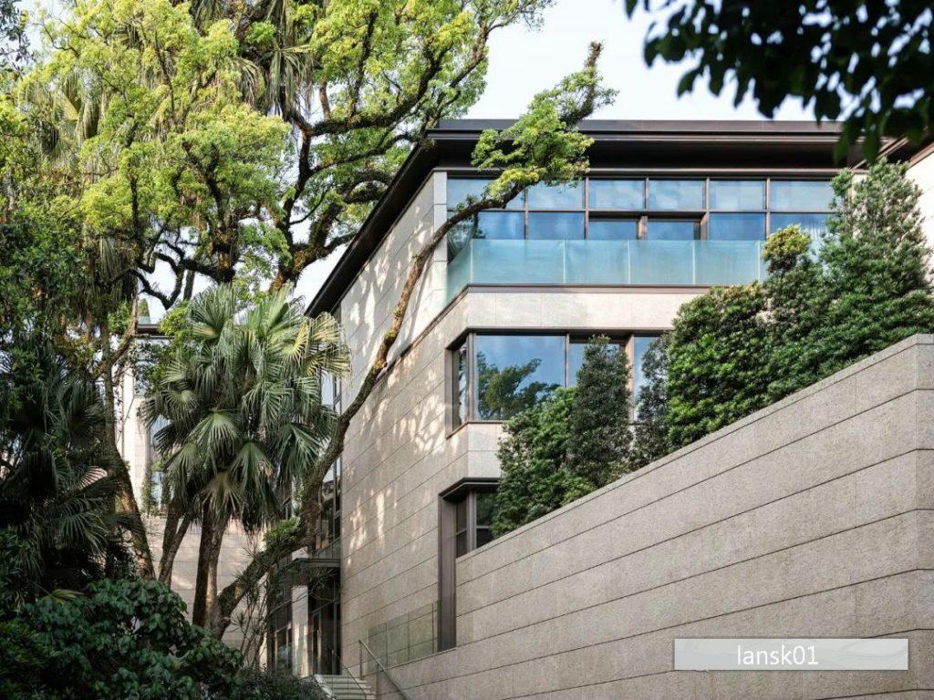 香港山顶道77号别墅Peak Road (1)