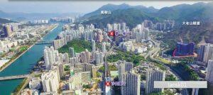 香港珑珀山景观