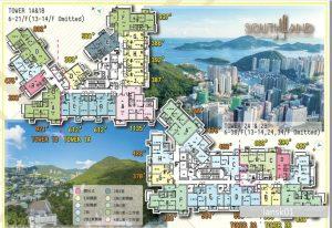 香港晋环户型图