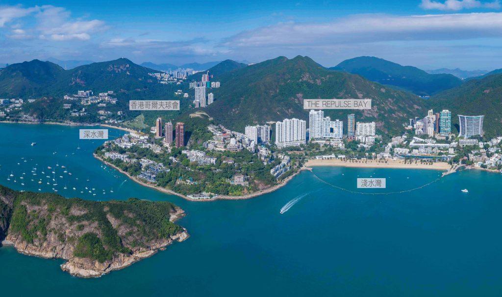 香港晋环临近香港浅水湾
