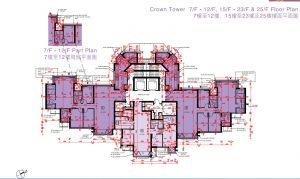 香港珑珀山户型图(3)