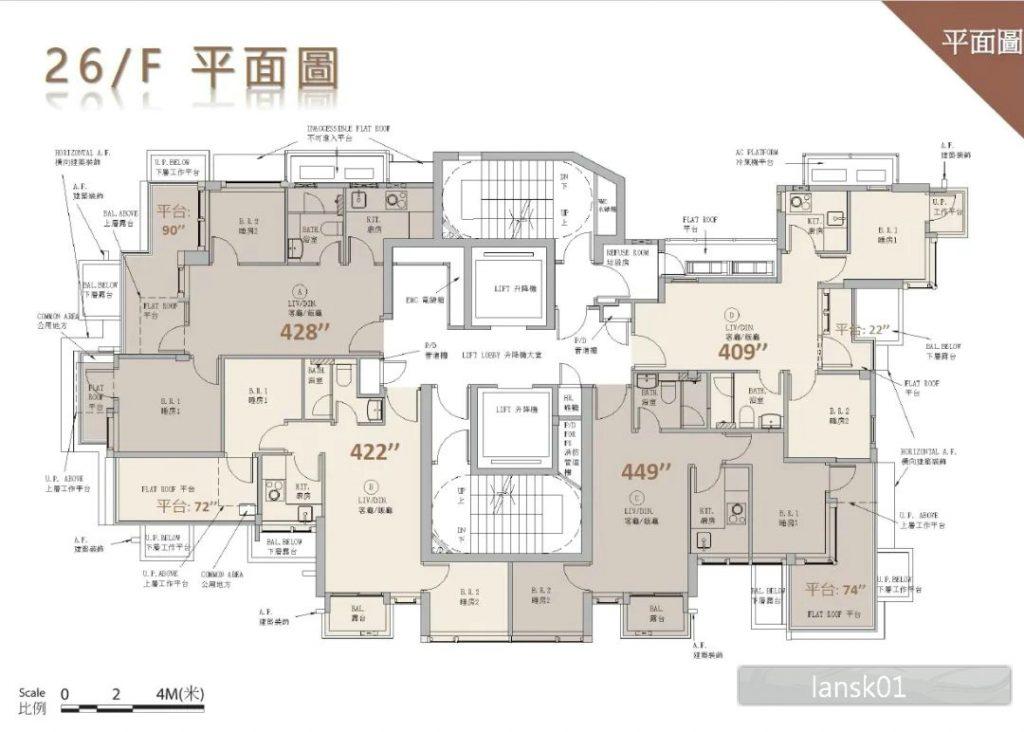 利晴湾23号户型图1
