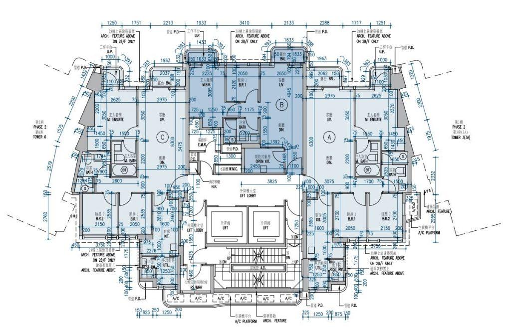 维港汇第二期5座户型图
