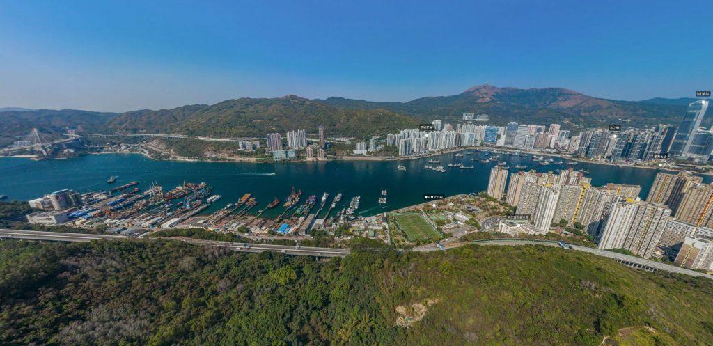 香港荟蓝A单位景观