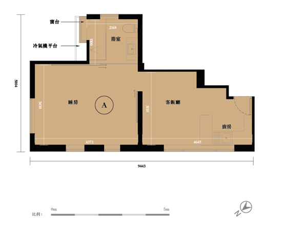 香港HollywoodHill楼盘 (户型图)