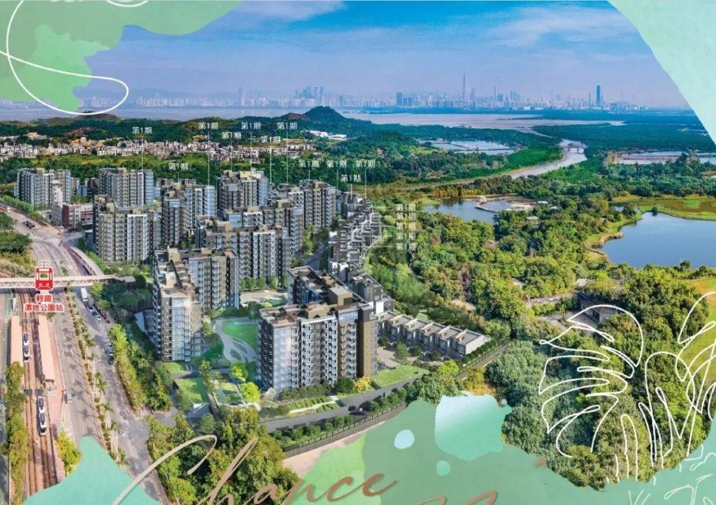 香港楼盘Wetland Seasons Bay (效果图12)
