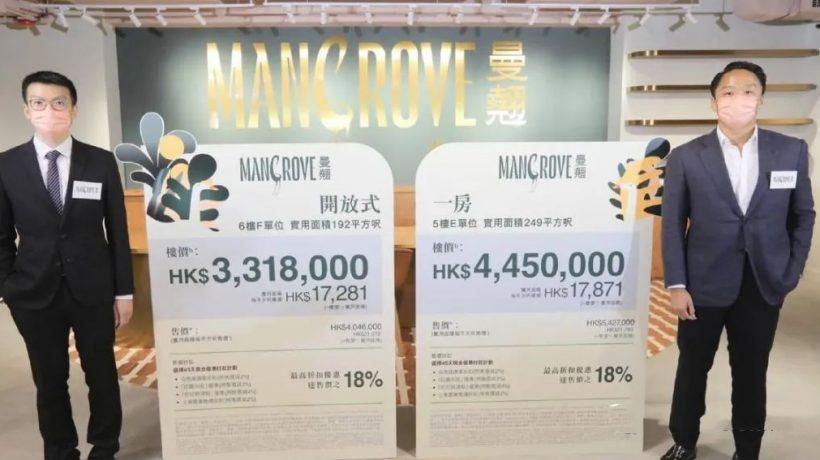 香港红磡楼盘曼翘房价