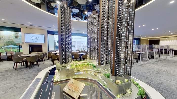 香港星凯堤岸样板房 (vr售楼处楼盘1)